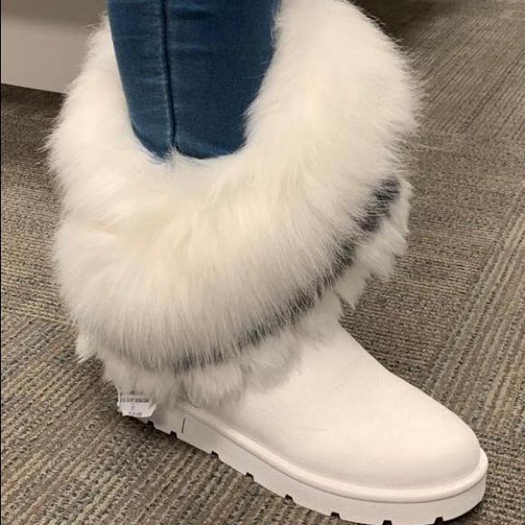 Mid Calf Furry Cozy Winter Boots | Poshmark